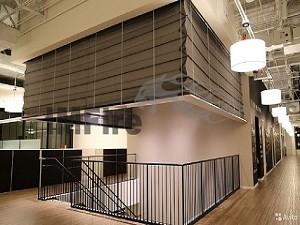 accordion smoke curtain